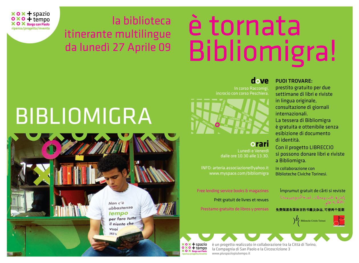 Bibliomigra Borgo San Paolo